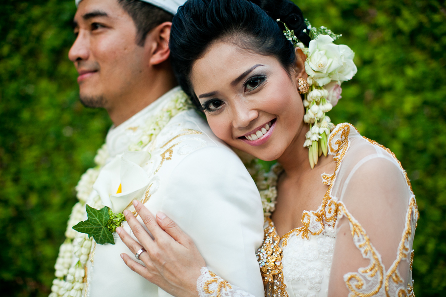 Bunn Salarzon - beautiful indonesian bride hair and makeup