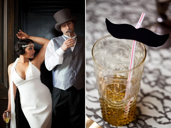 Bunn Salarzon - wedding photo booth props with fake mustache