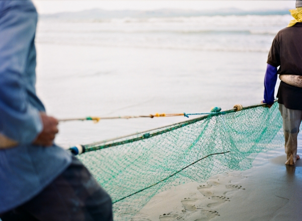 Bunn Salarzon - green fishing net