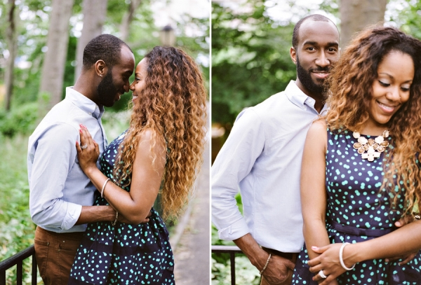 Bunn Salarzon - new york city engagement pictures