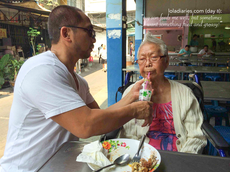 The Lola Diaries - take care of your parents in their old age