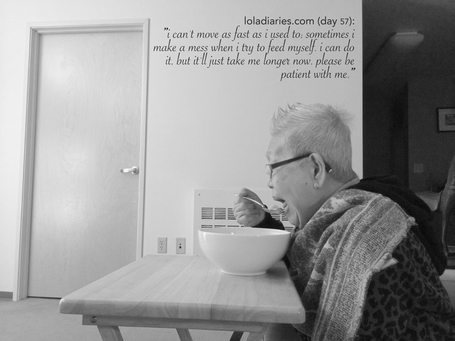 The Lola Diaries - taking care of parents with dementia