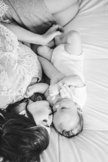 Bunn Salarzon - mommy and baby photos